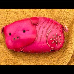 Handbags - Adorable Piggy Coin Pouch